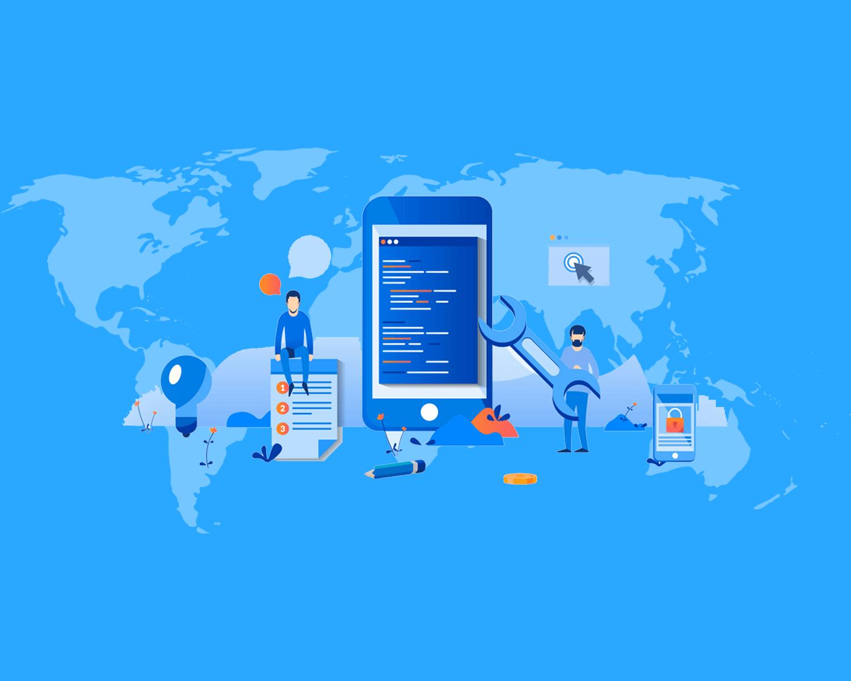 خدمات تصميم وتطويرتطبيقات الهاتف الذكية